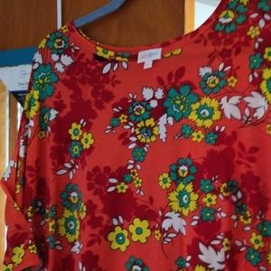 Lularoe Irma xl. Beauty!!!  Fits 18-22